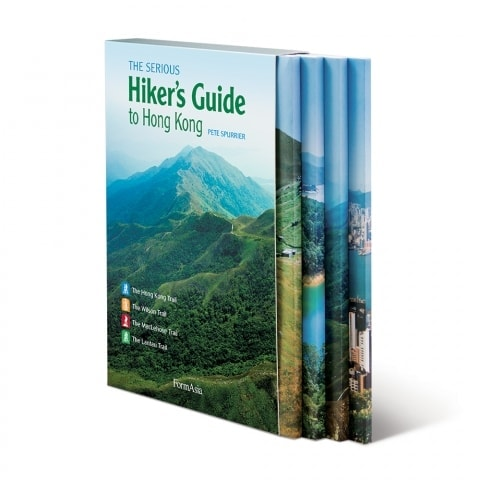 Book cover image: The Serious Hiker's Guide to Hong Kong by Pete Spurrier